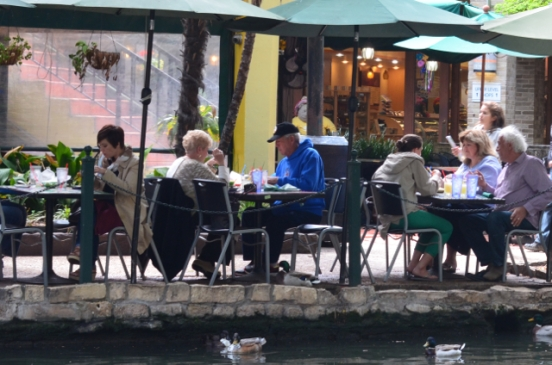 Dining on The Riverwalk in San Antonio