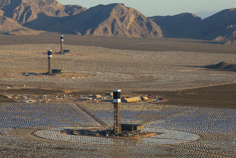 Ivanpah Solar Farms